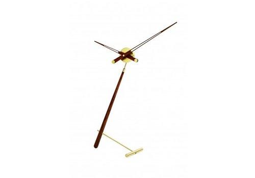 Nomon Table clock 'Puntero Gold'