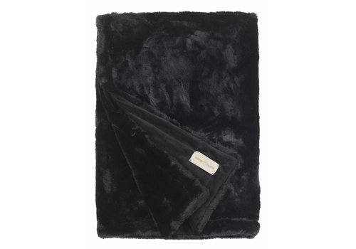 Winter-Home Bontplaid - Seal Black Supersoft