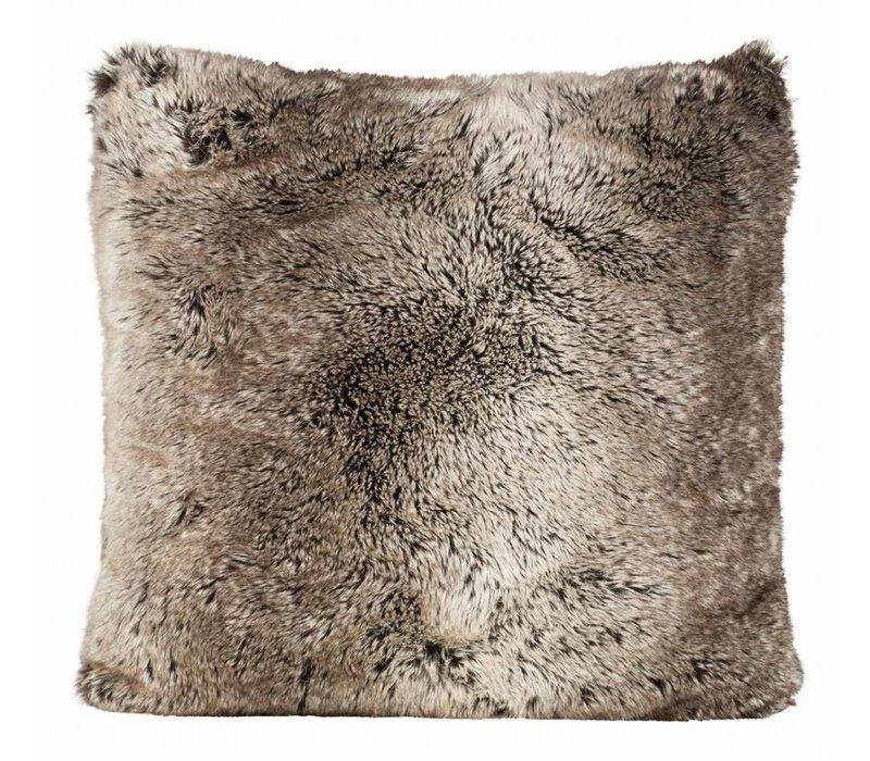 Cushion faux fur 'Yukonwolf'