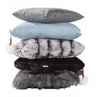 Cushion Alcantara 'Anthracite'