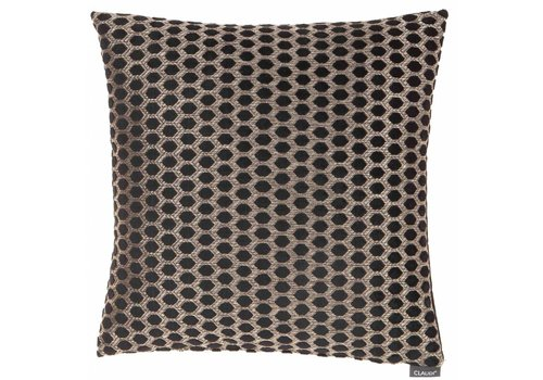 CLAUDI Cushion Sergio Black Gold