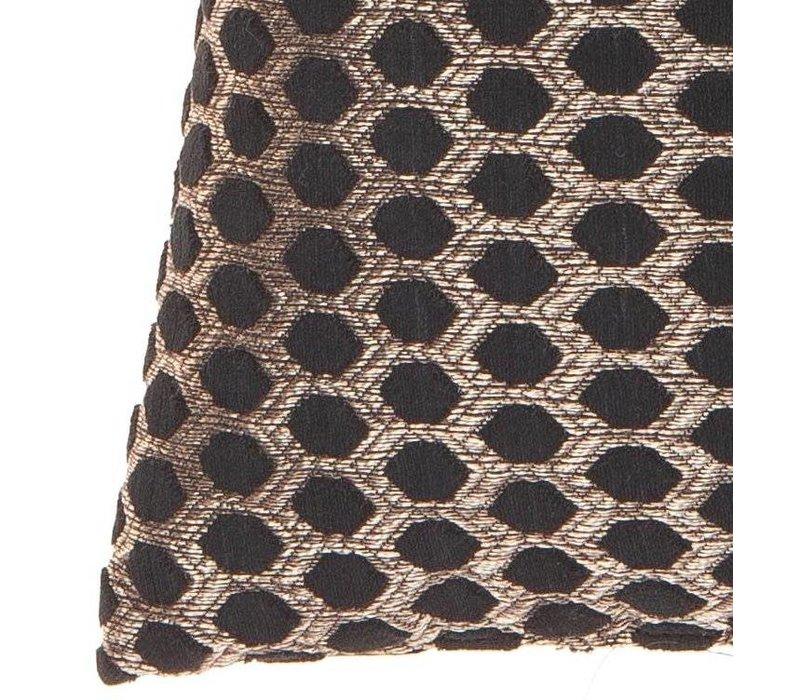 Cushion Sergio in color Black Gold