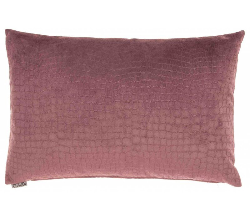 Cushion Incredable in color Aubergine