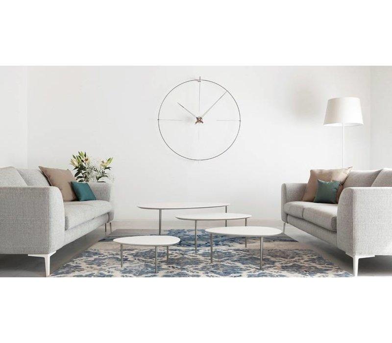 'Bilbao' round clock, minimalistic design