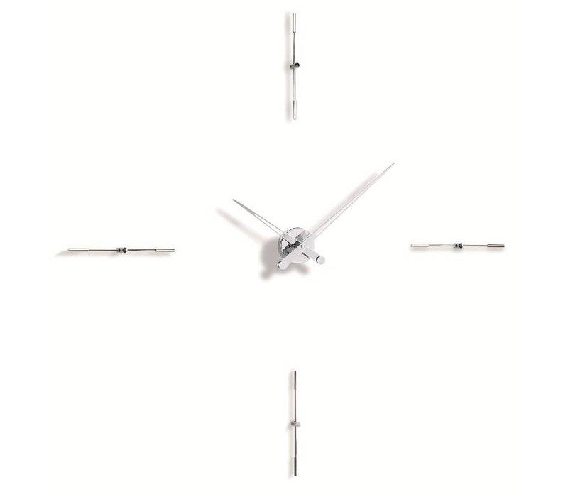 Merlín grote wandklok in minimalistisch design