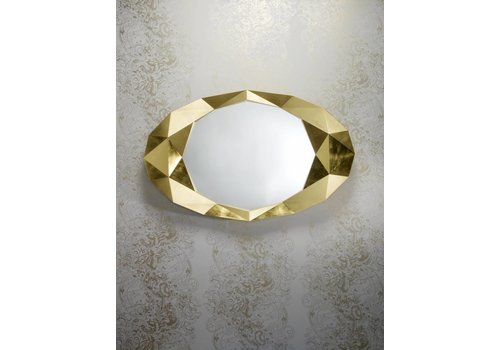 Deknudt Wandspiegel 'Precious' Gold