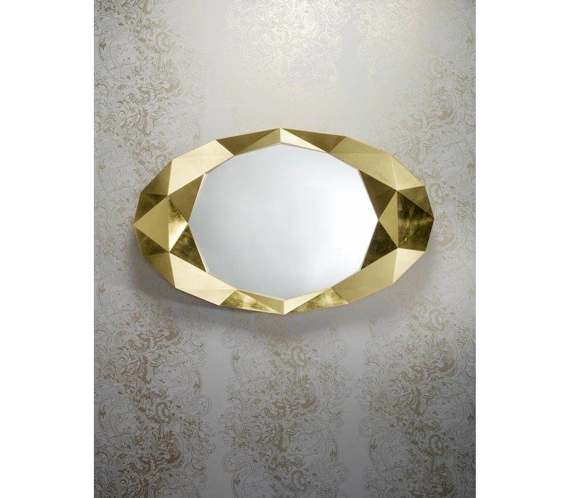 wall mirror 'Precious' in gold