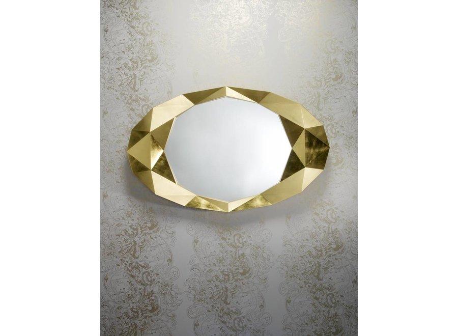 wandspiegel 'Precious' goud