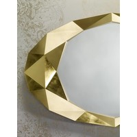 Wandspiegel Precious in goldenem Rahmen