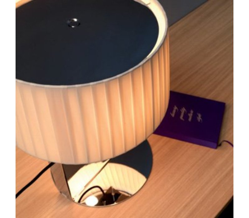 lamp design 'Divina' with fabric shade