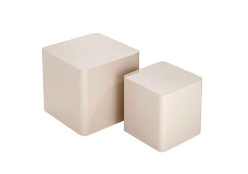 BRAID Beistelltische quadratisch - 2er Set