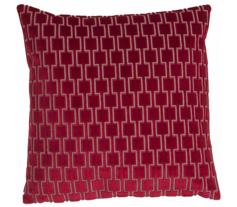 Cushion Frior in color Red