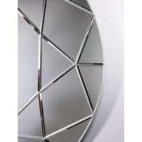 Großer runder Spiegel 'Round Diamond' Durchmesser 90 cm