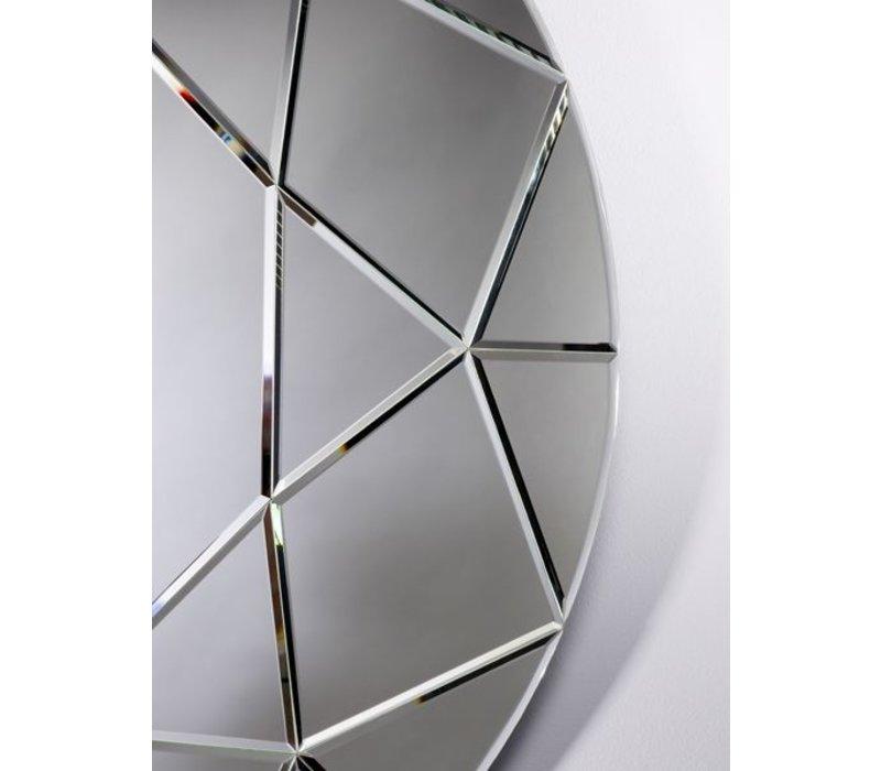 large round mirror 'Round Diamond' 90 cm