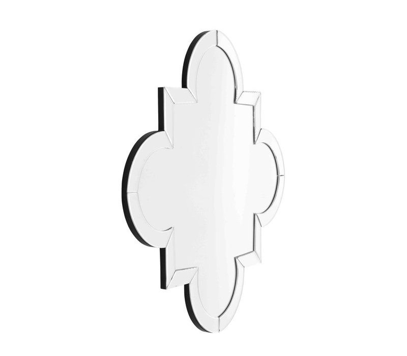 Design spiegel 'Mellon' 76,5x76,5cm