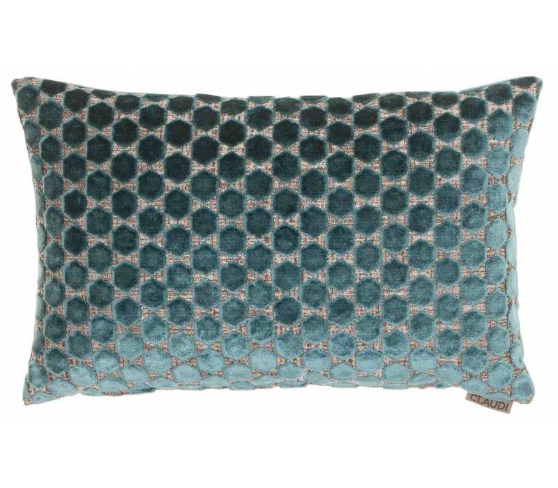 Cushion Orsina in color Petrol