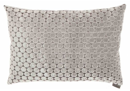 CLAUDI Cushion Orsina Silver