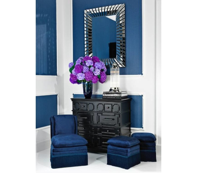Design wall mirror 'Granduca' 90x120cm