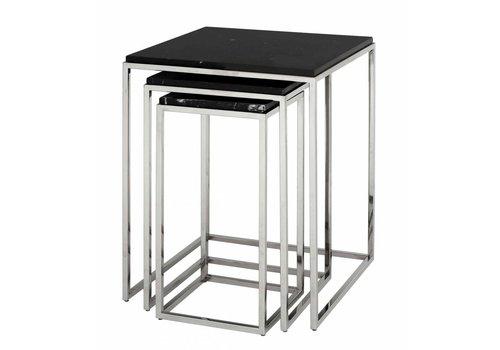 Eichholtz Marble side table 'Byron' set of 3