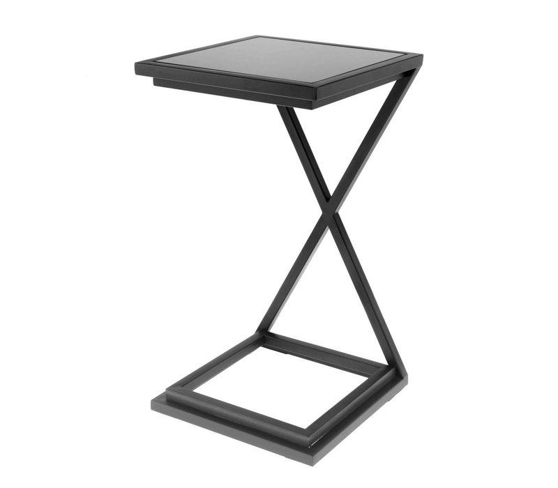 Beistelltisch schwarz - Cross schwarz 33 x 33 x 60 cm (h)