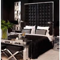 Hocker zwart - model 'Beekman Place'