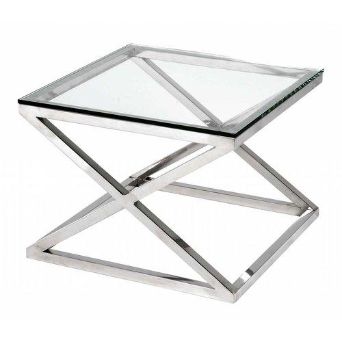 Vierkante Glazen Bijzettafel.Bijzettafeltjes Met Modern Of Klassiek Design Bestellen