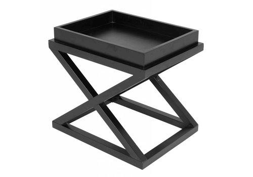 EICHHOLTZ Black side table - Mcarthur