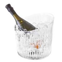 Glazen wijnkoeler 'Louxor' 22 x 22cm (h)