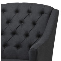 Dining chair with arm - Lancaster black