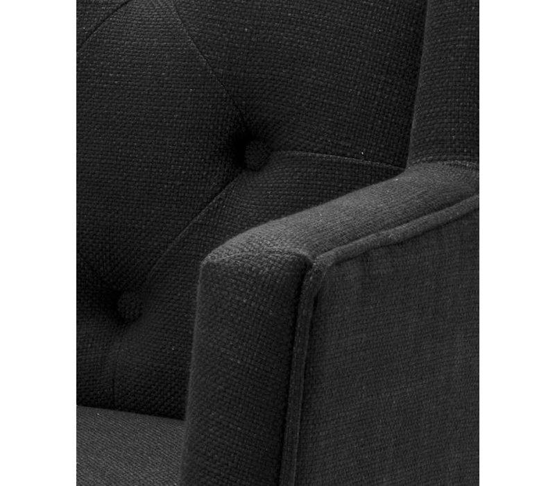 Dinaing armchair black - Boca Raton