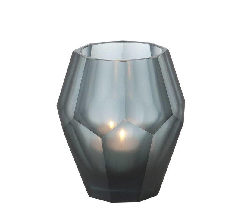 Candle holder - Okhto blue 'S set of 4
