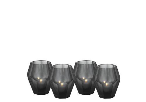 EICHHOLTZ Teelichthalter - Okhto black S