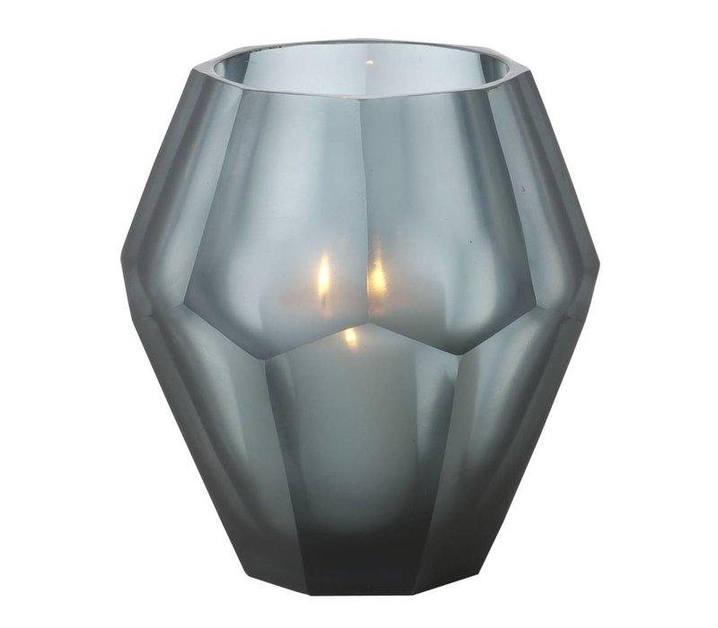 Candle holder - Okhto blue L set of 2