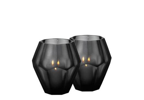 EICHHOLTZ Teelichthalter - Okhto black L