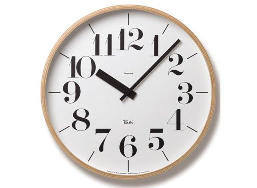 wall clock 'Riki'