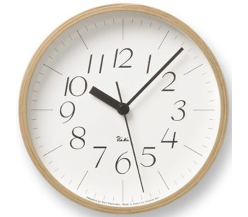 RIKI wall clock combines beatiful design with excellent readability