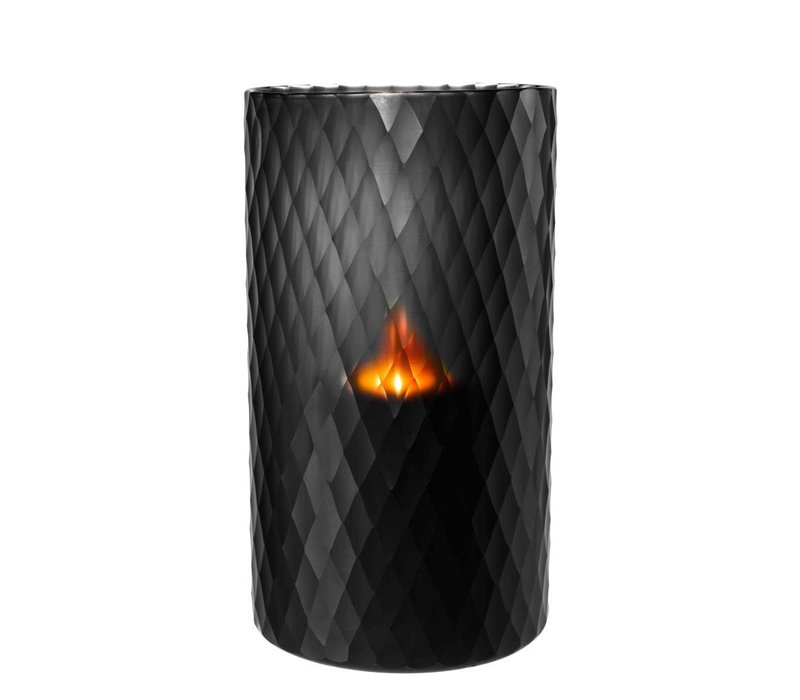 Windlicht - Morton L black 20 x 36 cm (h)
