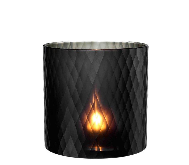 Windlicht - Morton M black 20 x 20cm (h)