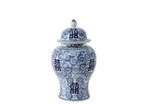 EICHHOLTZ Decoratie vaas - Glamour L Chinese Blue