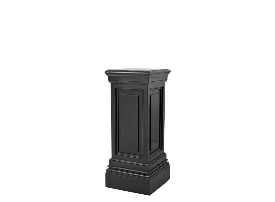Zwarte zuil Salvatore 'S' 80cm