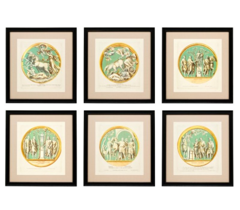 Prints Pietro Santi Bartoli Set von 6