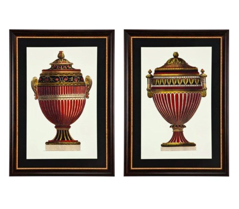Prints Empire Urnen Set von 2