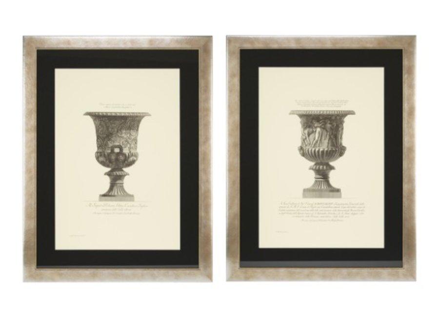 Prints Giovanni Piranesi set van 2