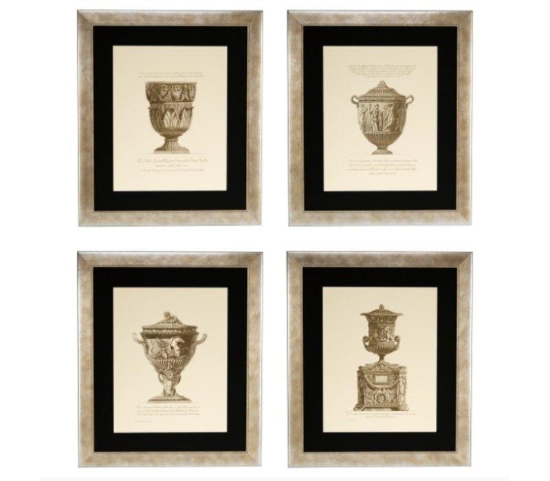 Prints Giovanni Battista - Set von 4