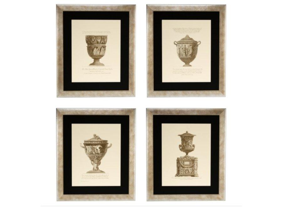 Prints Giovanni Battista - set van 4