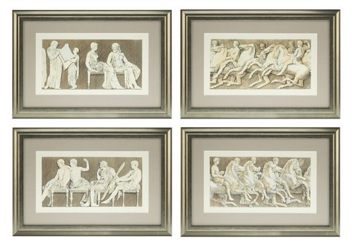 Eichholtz Prints Antiquities of Athens set van 4