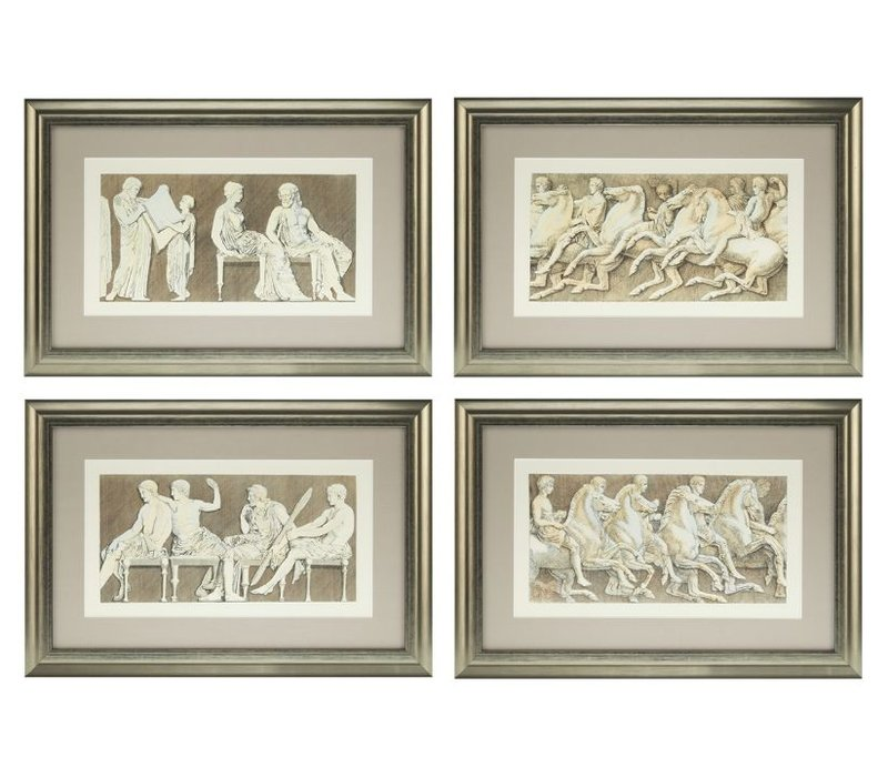Prints Antiquities of Athens - set of 4