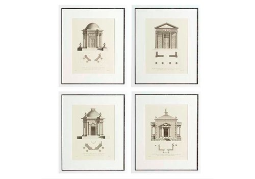 EICHHOLTZ Prints Architecture set van 4