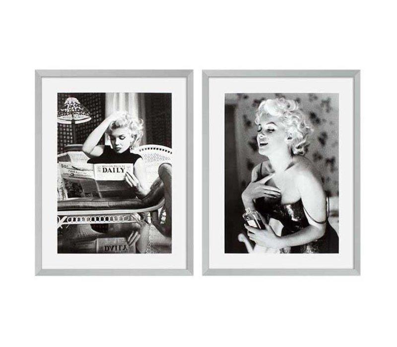 Prints Marilyn Monroe set van 2