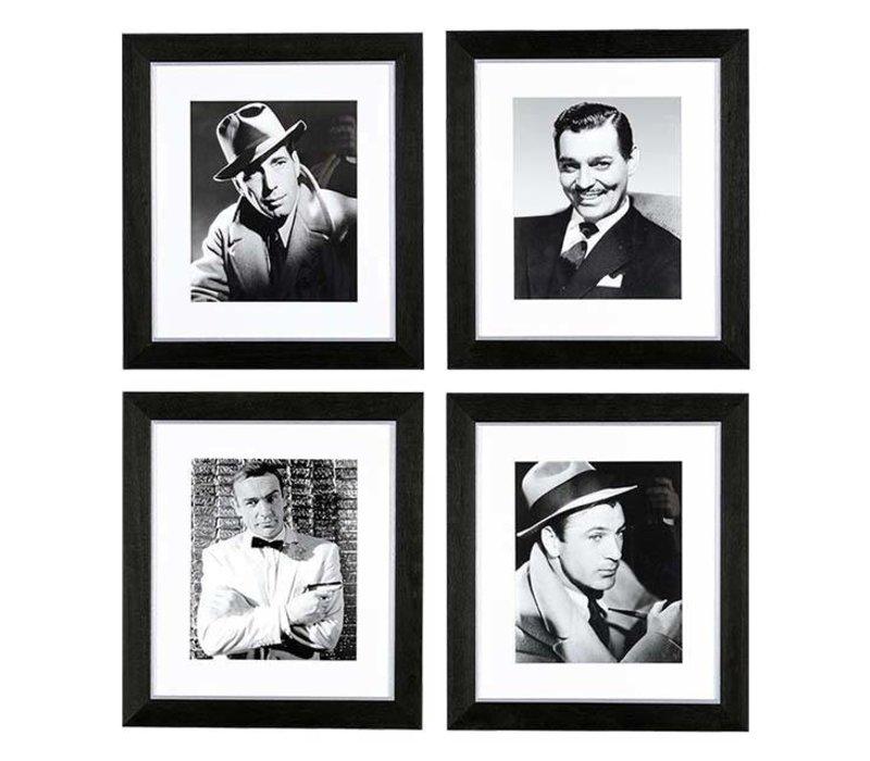 Prints New Cinema Gentlemen set van 4